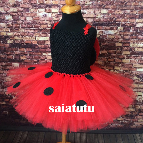 black dot red tulle NEW kid children baby girl tutu princess dress ball gown Christmas new year Costume party birthday clothing new year princess dress children clothing red with white baby girl christmas dresses clothes kids xmas party tutu dress costumes