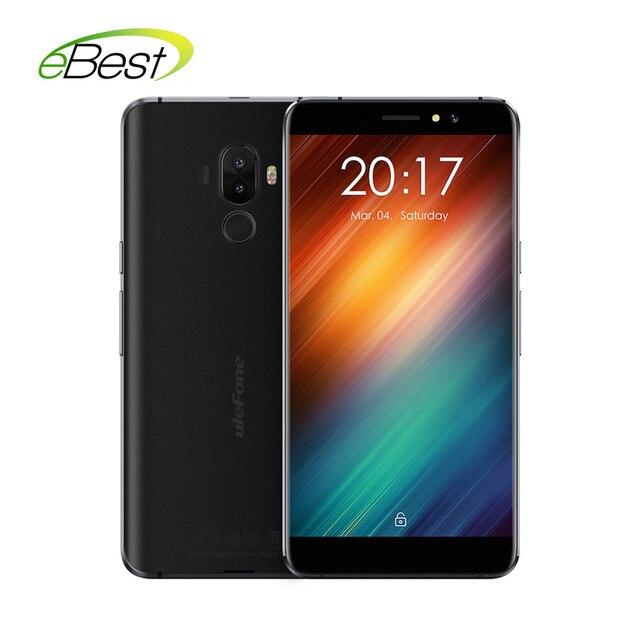 Ulefone S8  Mobile Phone Dual Back lens 5.3 Inch HD IPS MT6580 Quad 1GB RAM 8GB ROM 13MP Fingerprint ID 3000mAh smartphone