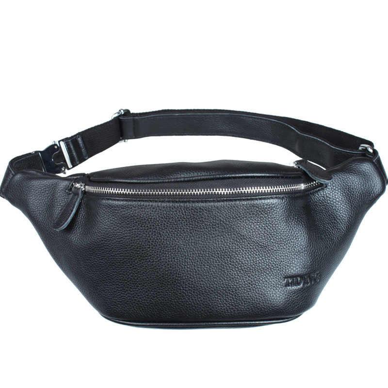 Tiding Yeni Erkek Tasarımcı Kabartmalı Deri Bel Çantası Rahat Tarzı Yastık Fanny Paketleri Bum kalça kemeri Çantası Küçük Göğüs Paketi Siyah