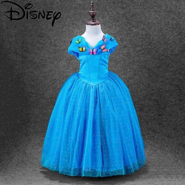 Robe Reine Des Neiges Disney Elsa Blanche Neige Costume Cosplay De Princesse Pour Petites Filles Elsa Anna Cendrillon Pour Enfants Aliexpress