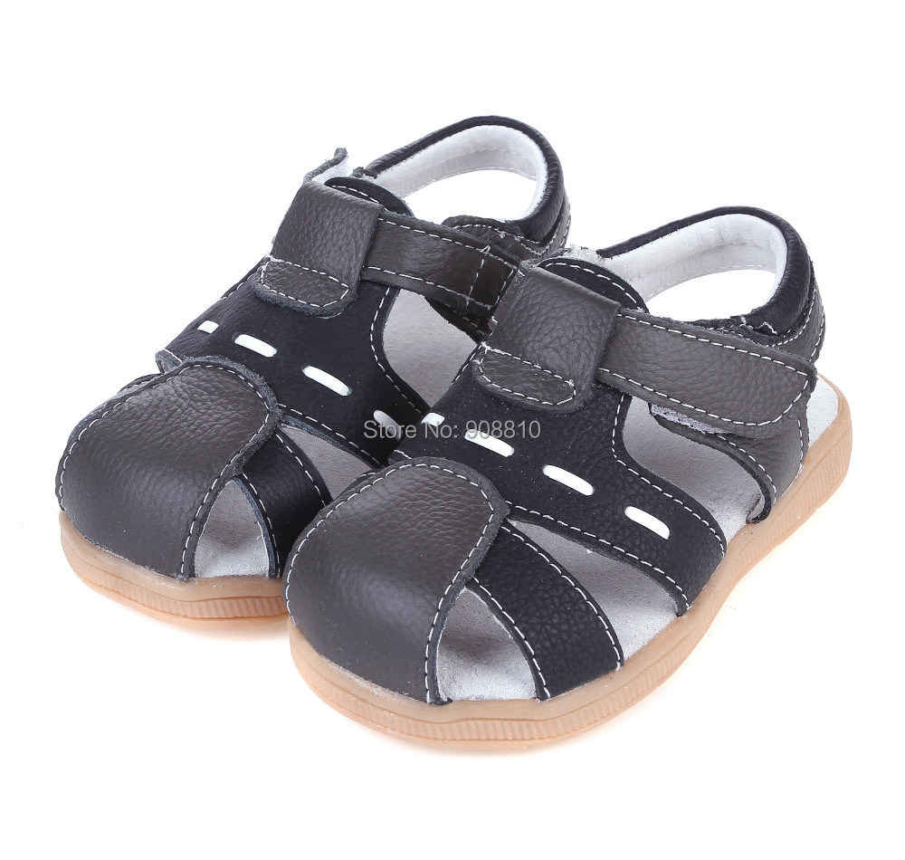 Baby Boy Leather Sandals