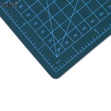 VODOOL Cutting Mat A5 PVC Self Healing Builders 22 x 15cm Cutting Craft Mat Office Home Paper DIY Tool Cutting Pad(as pictu
