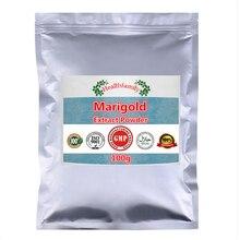 100% extrait de fleur de calendula Pure poudre de lutéine, calendula africaine, bon pour la Vision, Anti vieillissement cellulaire, prévenir les maladies