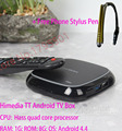 HiMedia TT Android 4.4 TV Box 4K HD Smart Network Media Player Quad Core 1GB / 8GB Support 600+ Free China Mainland TV Channels