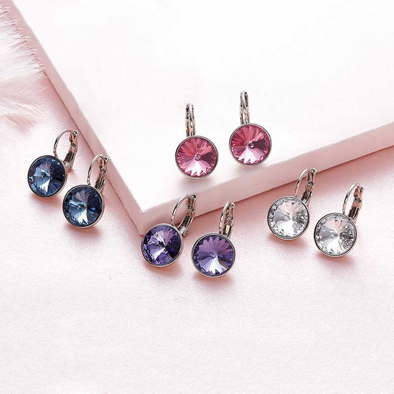 097a622f6 Baffin Original Crystals From Swarovski Bella Mini Piercing Earrings New  Fashion Stud Earrings Wedding Party Jewelry