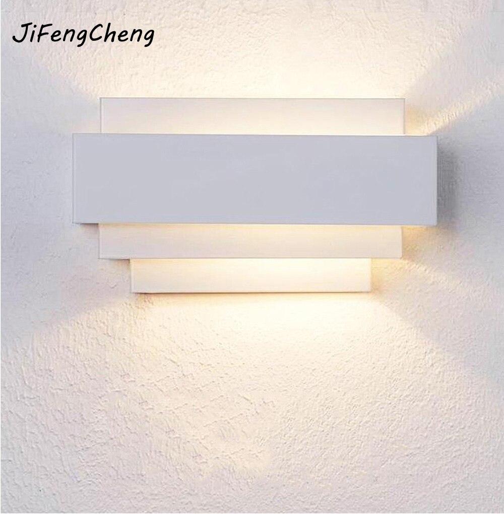 27 Minimalist Bedroom Ideas To Inspire You To Declutter: JIFENGCHENG Modern Minimalist Bedroom Bedside Lamp LED
