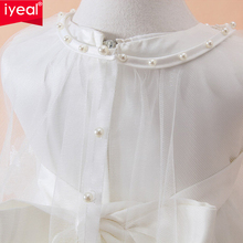Newborn Baby White Princess Lace Baptism Dress 3pcs/set