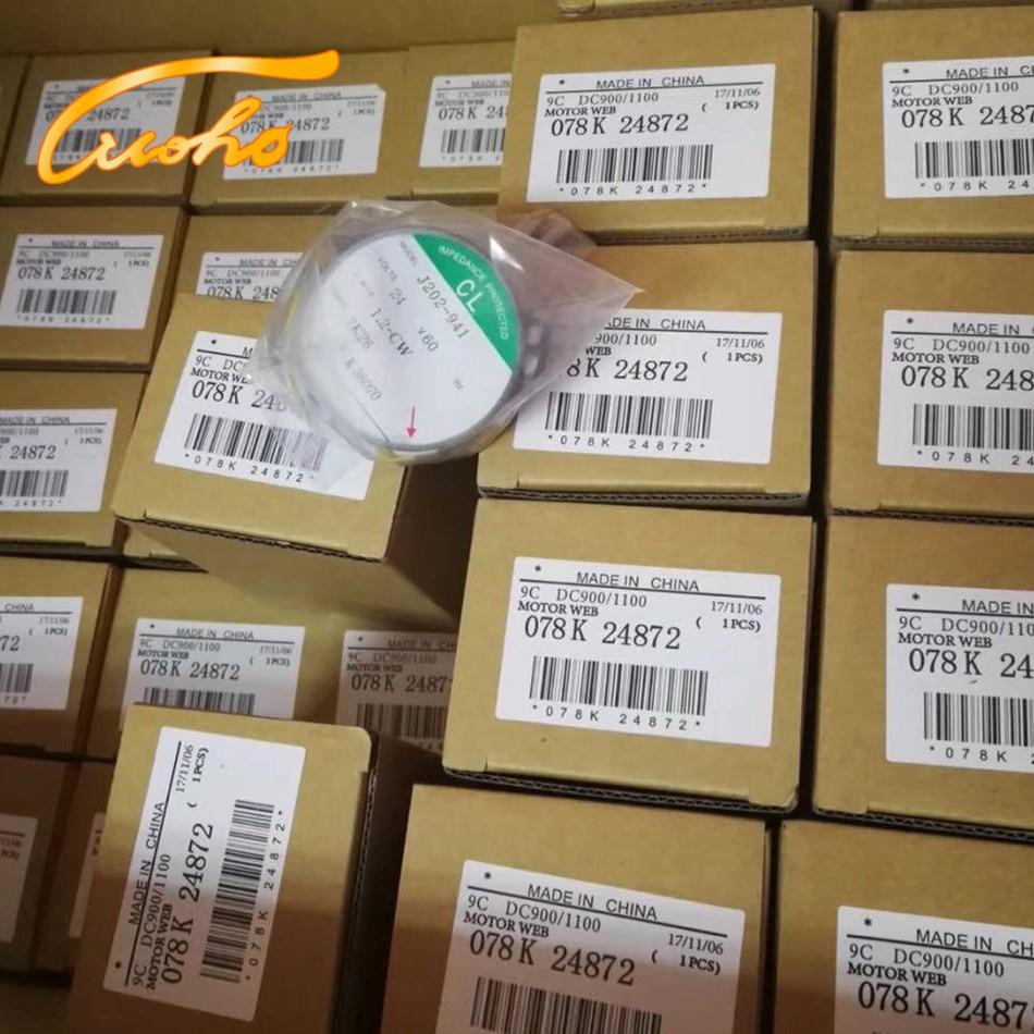 Original 078K 24872 DC900 Motor Web for Xerox DocuCentre 4110 1100 4112 4127 4595 900 printer parts