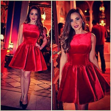 9336f051cc703 Buy elegant red cocktail dress and get free shipping on AliExpress.com