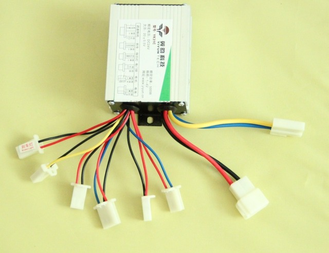 24v 500w Dc Electric Bike Scooter Motor Brushed Controller Speed