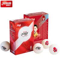 DHS 2019 dernières balles de Tennis de Table 3 étoiles (Version spéciale D40 +, ABS cousu 3 étoiles) balles de Ping-Pong en plastique blanc