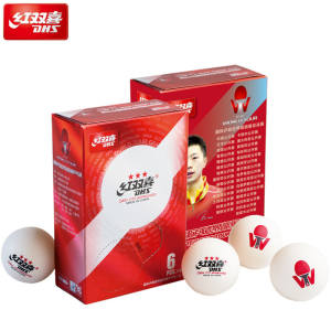 DHS Table-Tennis-Balls Ping-Pong-Balls D40 3-Star Plastic ABS White Latest Special-Version