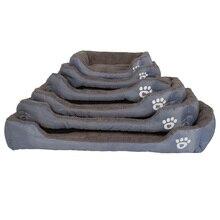 S-3XL 9 Colors Paw Pet Sofa Dog Beds Waterproof Bottom Soft Fleece Warm Cat Bed House Petshop Dropshipping cama perro