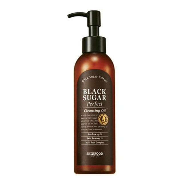 SKINFOOD Black Sugar Perfect Cleansing Oil 200mL Made in Korea Korean Cosmetics