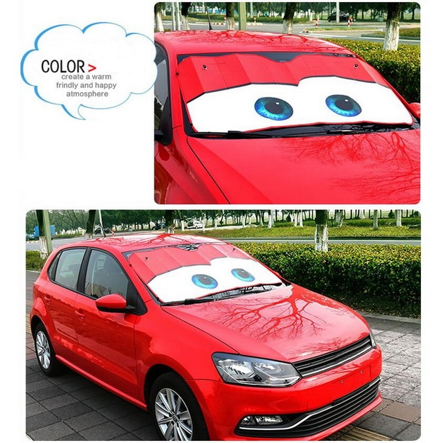 Tonlinker Eyes chauffé pare-brise pare-soleil voiture fenêtre pare-brise couverture pare-soleil Auto pare-soleil bâches de voiture voiture Protection solaire