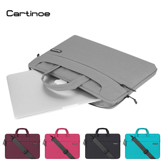 661895297bc4 US $47.25 |Cartinoe Laptop Cover for Macbook Pro 15 Case Air 13 Bag,Women  Men Business 13.3 15 inch Messenger Shoulder Laptop Bag Case-in Laptop Bags  ...