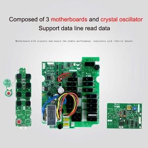 Image 3 - Duplo/único guindaste da velocidade F24 8D/s que conduz o guindaste industrial de controle remoto sem fio industrial 1 receptor 2 transmissor 220v12v24v