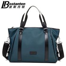 Bostanten 2015 Men Nylon Large Messengee Bags Fashion Casual Men's Singles Shoulder Handbags Korean Style Crossbody Men's Bag