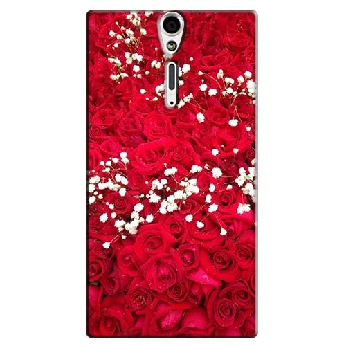 for Sony Xperia S Lt26i / SL LT26ii Original Print Phone Case Hard Plastic Back Cover Bags Cases Capa New Fashion
