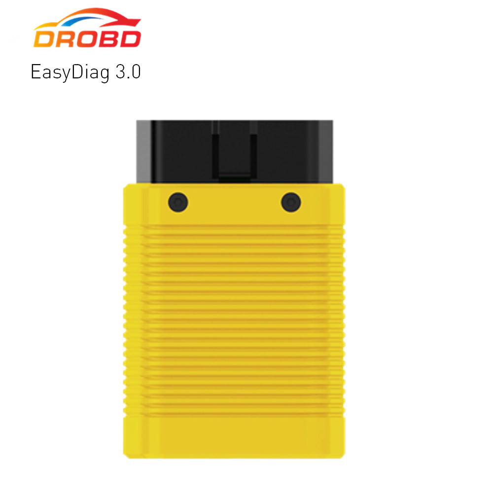 New arrival LAUNCH EasyDiag 3.0 obd2 Diagnostic Tool for Android OBDII Bluetooth scanner better than easydiag 2.0 визитница dkny dkny dk001dwawkt5