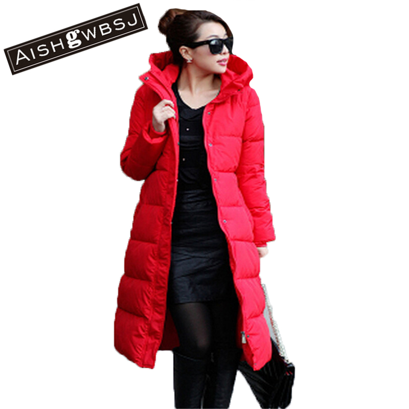 AISHGWBSJ Free Shipping 2017 New winter women warm cotton padded leopard blazer Jacket thick hooded slim waist coat W15 комод лидер 2 5