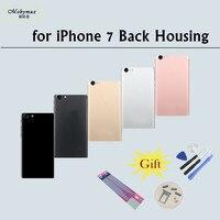 Châssis Retour Logement Batterie Couverture Coque Fundas pour iPhone 7 4.7