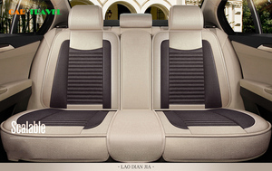 Image 3 - מכונית כיסוי מושב פשתן אוניברסלי מושב כרית רכב סטיילינג עבור סקודה אוקטביה פאביה מעולה ראפיד Yeti Spaceback Joyste Jeti מדבקות