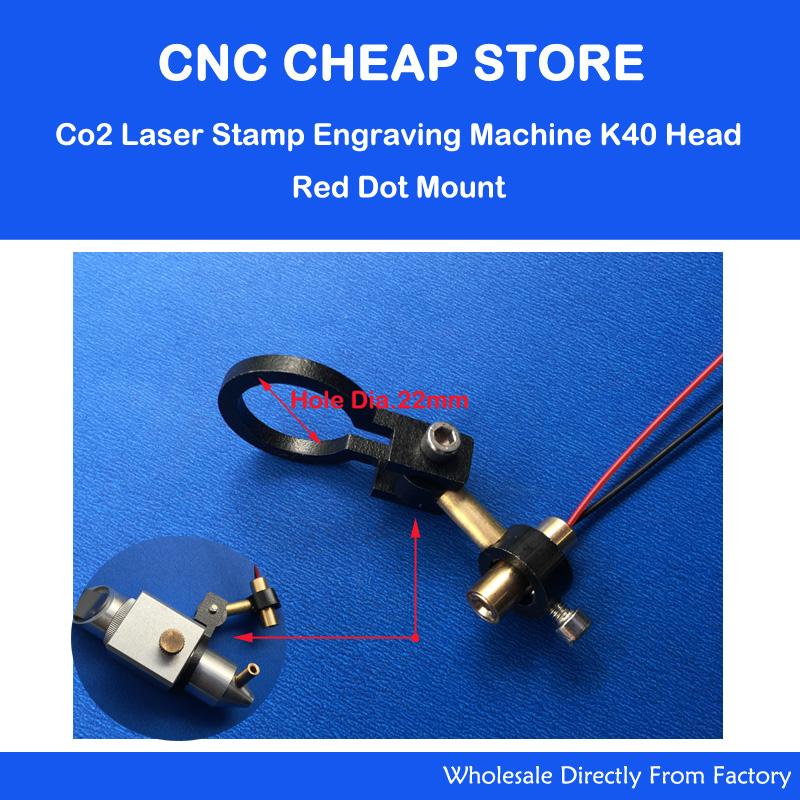Shenhui K40 Co2 Laser Head Adjust Focus Diode Module Red Dot Position DIY Laser Engraving Cutting Machine