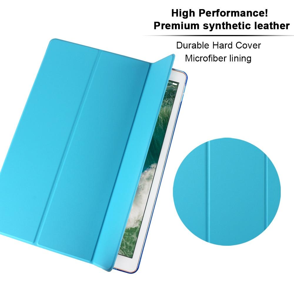 Ultra Slim Cerdas Kasus Cover untuk Apple iPad Pro 12.9 2015 2016 - Aksesori tablet - Foto 3