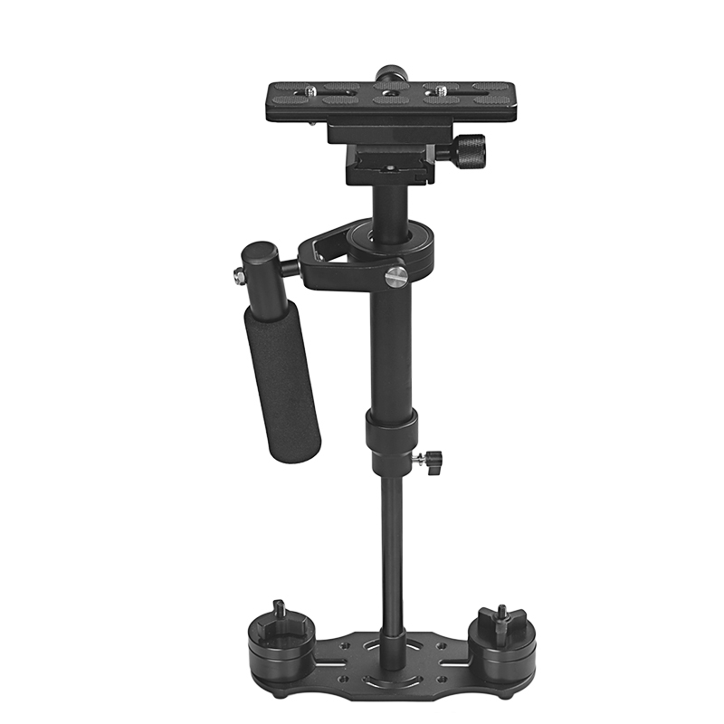 60cm camera stabilizer aluminum mini handheld gimbal dslr stabilizer steadicam for Video Camera for gopro camera for phone ajustable s60 gradienter handheld stabilizer steadycam steadicam photo studio stabilizer accessories for camcorder dslr