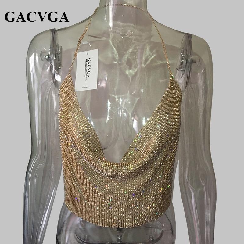 GACVGA 2019 хрустальдан жасалған алтын - Әйелдер киімі - фото 2