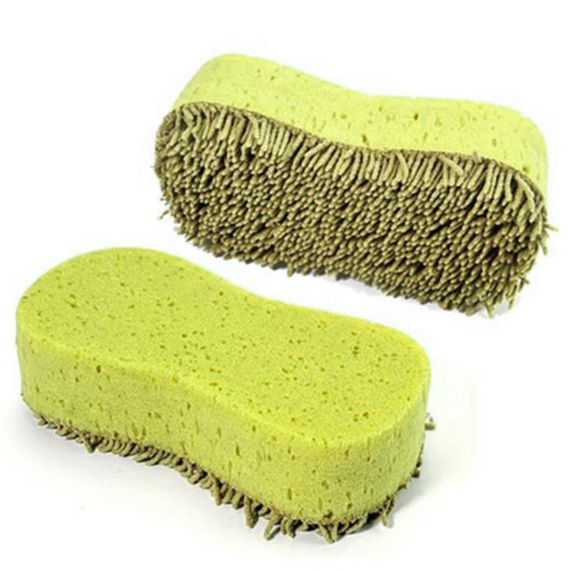 Dropship Hot Selling Practical Cleaning Washing Cleaner Coral Microfiber Sponge Brush For Auto Car Gift May 17