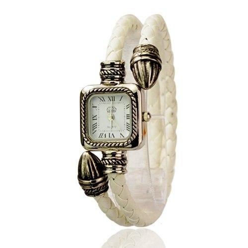 Hot Sale Wholesale Buy Cheap Ladies Bangle Watches Dropship Women Quartz Bracelet Watches for Sale Square Dial Wrist Watch White