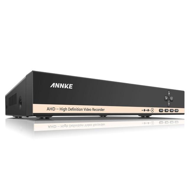 ANNKE Home Security HD 1080N 720P 8CH DVR Set 8PCS 1200TVL 1.0MP AHD CCTV Camera System 8 Channel Video Surveillance Kits