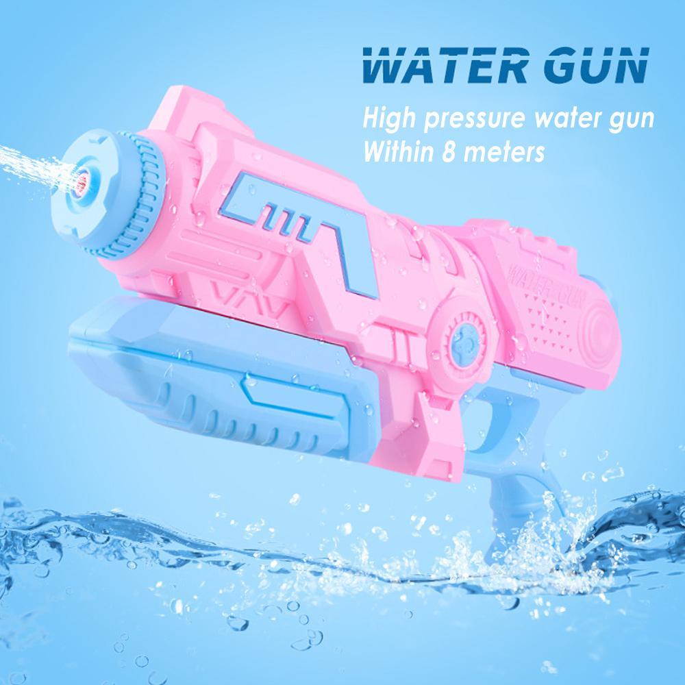 Water Guns Toys 1000ML Water Pistol Blaster Kids Beach Toys Pull-type Pneumatic Toy Water Gun Summer Squirt Gun Beach Games