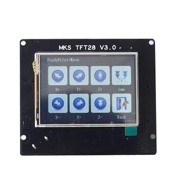 3d printer elements MKS TFT28 V3.0 touch screen for RepRap controller panel colorful display SainSmart splash screen lcd Monitor