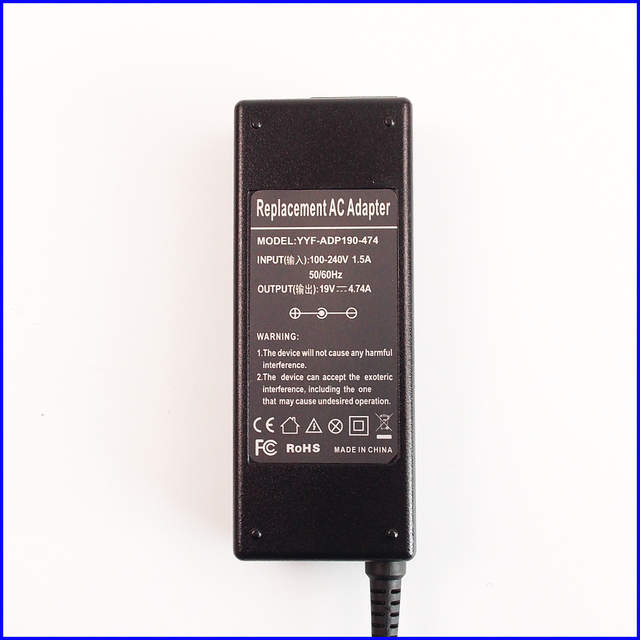US $14 54 |19V 4 74A Laptop Ac Adapter Battery Charger for Samsung RV413  RV415 RV509 NP RV509 RV511 NP RV511 RV513 NT P530 RV711 NP P230-in Laptop