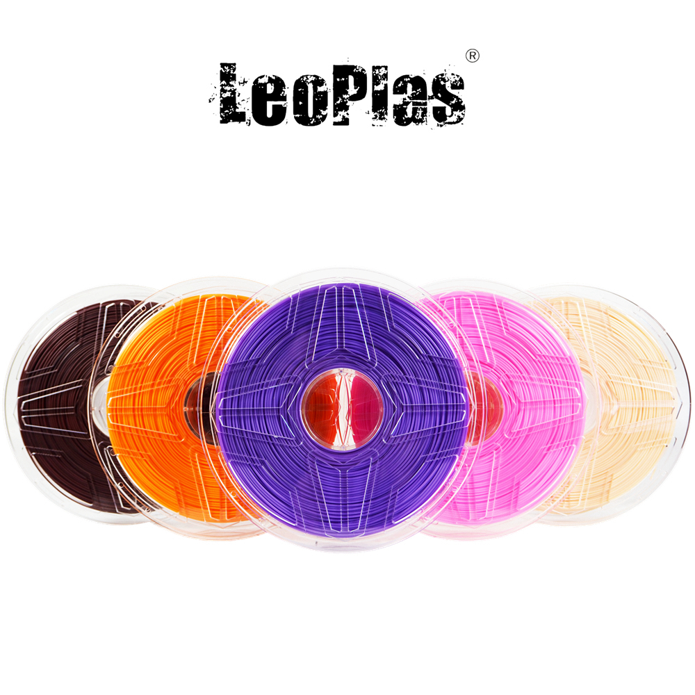 USA Spain China Tax-free Warehouse 2.85mm No Warp New ABS Filament 1kg 3D Printer Ultimaker Supplies Plastic Printing Material