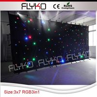 Free Shipping 3m by 7m new products led white wedding wall