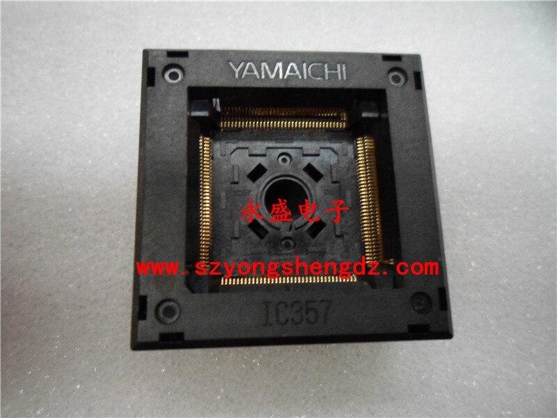 ФОТО Imported IC test socket burning seat QFP144 / TQFP144 / LQFP144 pitch: 0.5MM -FREESHIPPING