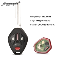 Chip id46 do transponder de jingyuqin para mitsubishi OUCG8D-620M-A 313.8mhz para mitsubishi galant eclipse 2007-2012