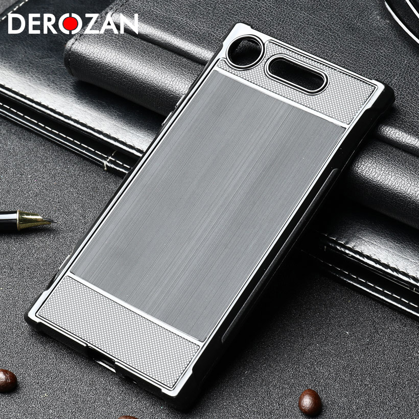 Derozan Shatter-resistant Case For <font><b>Sony</b></font> XZ1 Compact XA1 Plus Cases G8341 F8342 G8441 G3412 G3421 G3423 <font><b>G3416</b></font> TPU Back Cover Capa image