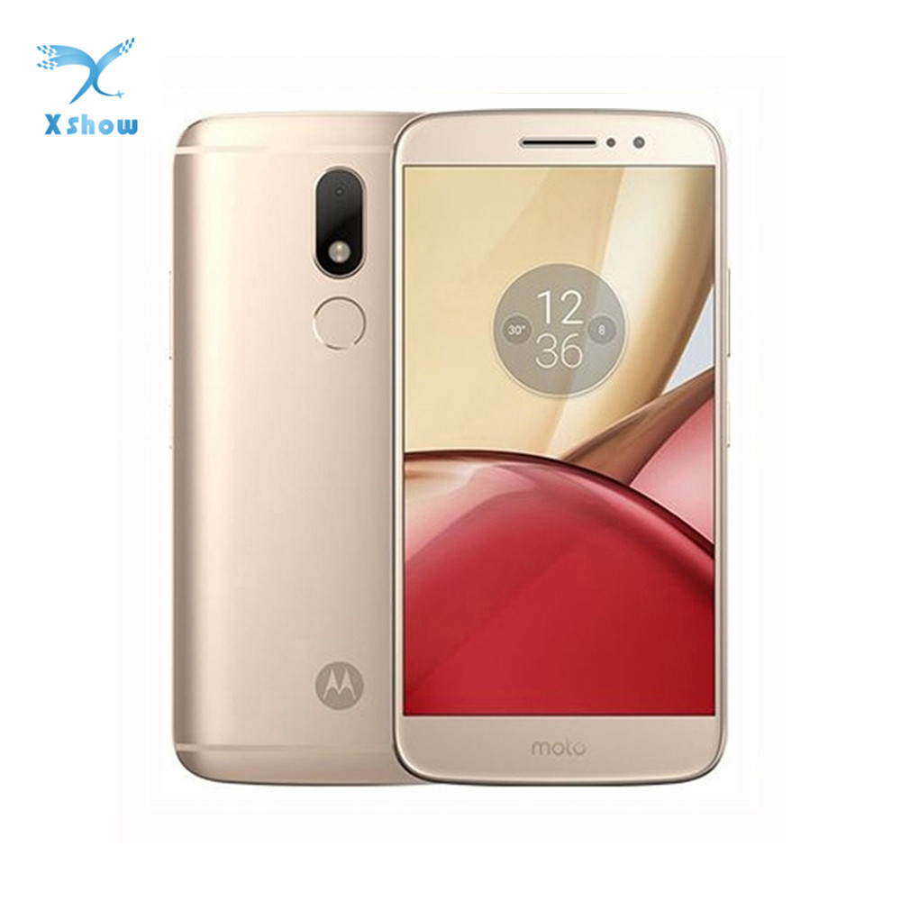 New Motorola Moto M XT1662 Mobile Phone 4G LTE MTK Helio P10 Octa Core 5 5