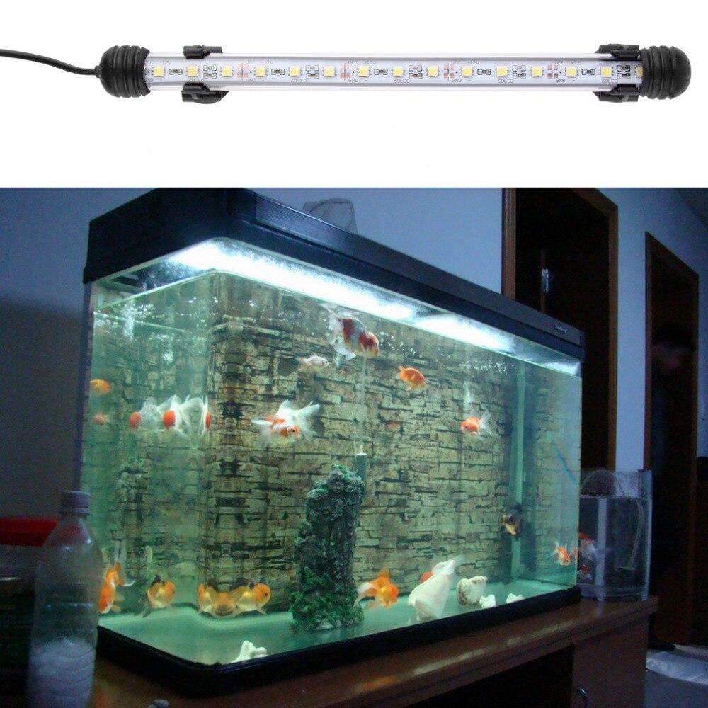 Aquarium fish tank china - Waterproof Underwater Aquarium Fish Tank Led Light Bulb Lamp Tube 28cm Popular New China