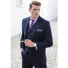 Formal Men's Suits Wedding Tuxedos Bespoke Groom Suits Best Man Prom Tuexdos mens suits wedding groom 3 pieces