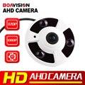 1.0MP AHD Cámara de 2MP Panorámica de ojo de Pez Lente de Visión de 360 Grados 720 P 1080 P AHD Cámara IR 10 m Analógico Cámaras de vigilancia de Metal