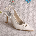 Wedopus MW290 Brand Name Sexy Brand Women Heels Pointed Toe Slingback Shoes Wedding