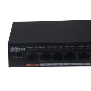 Image 2 - Origina Dahua PoE Switch DH S1500C 8ET1ET DPWR 8CH Ethernet Power Switch Support 802.3af 802.3at POE POE+ Hi PoE Power With Logo