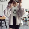 Women Cardigan Sweater 2017 Spring Autumn New Fashion Knitted Cardigans High Quality Embroidery Pull Femme Sweter Mujer SZQ124