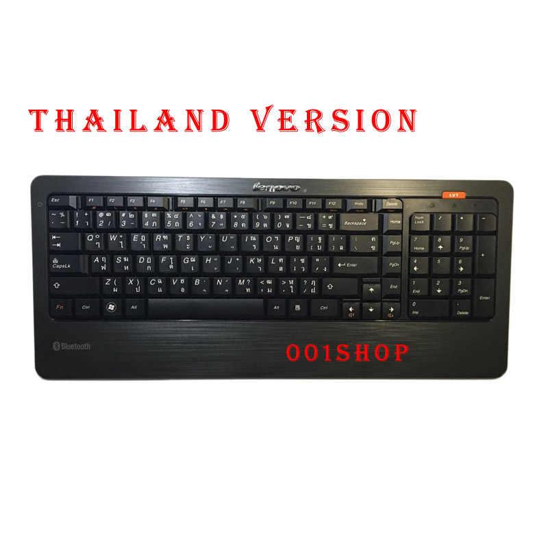 Teclado Bluetooth Original para Lenovo B505 HP DELL teclado multilingüe RUSO EUROPEO árabe Español portugués teclado